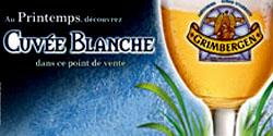 Grimbergen Cuvée Blanche, la bière qui fait le printemps