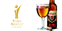 Affligem Triple, médaillée au World Beer Cup 2008