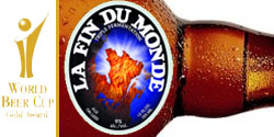 La Fin du monde, récompensée au World Beer Cup 2008