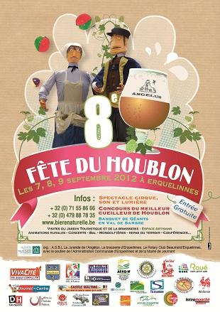 Fête du Houblon a ERQUELINNES  les 7-8-9 septembre 2012