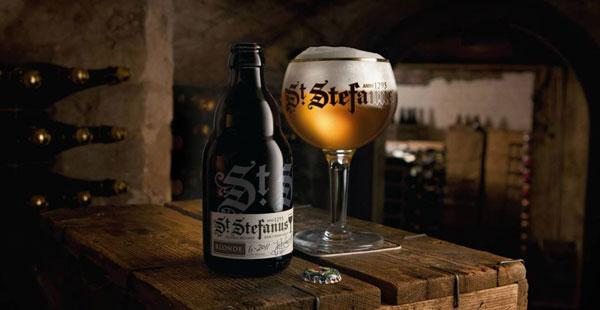 Bouteille de la bière Saint Stefanus