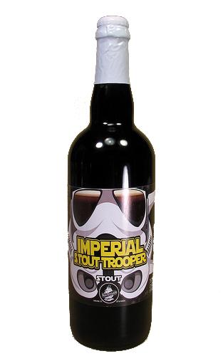 Bouteille de bière de Imperial Stout Troopers