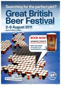 Affiche de du Great british Beer festival