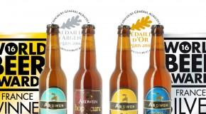2016, année du succès pour la Brasserie Ardwen !