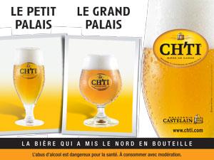 Campagne Chti monuments Paris Le grand Palais et le petit Palais