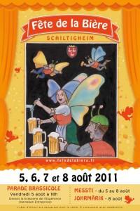 Affiche de la Fête de la bière de Shiltigheim
