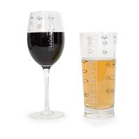 Verre à alcootest intégré