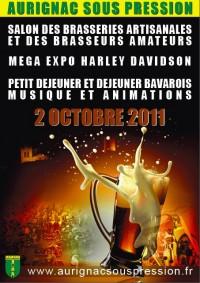 Affiche du festival Aurignac Sous Pression