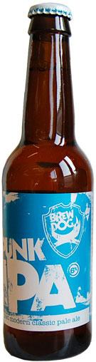 Bouteille de la bière Punk IPA - brasserie Brewdog