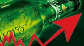 La brasserie Carlsberg ne connaît pas la crise