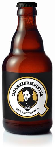 Bouteille de bière Quartiermeister