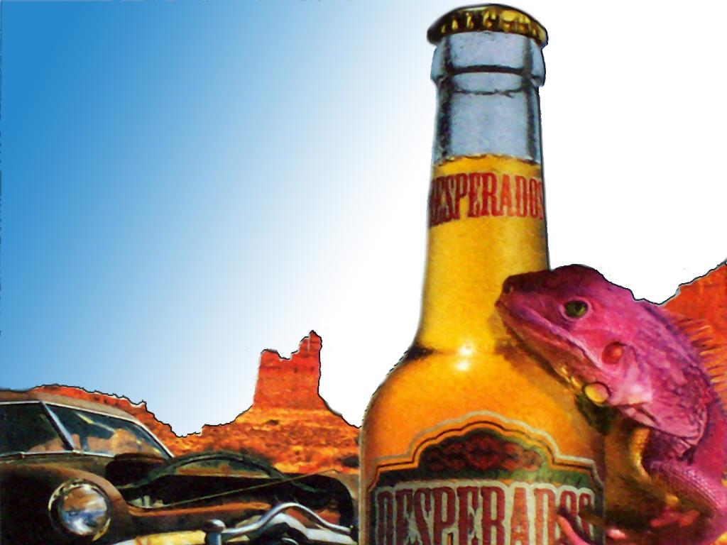 Customiser sa bouteille de Desperados