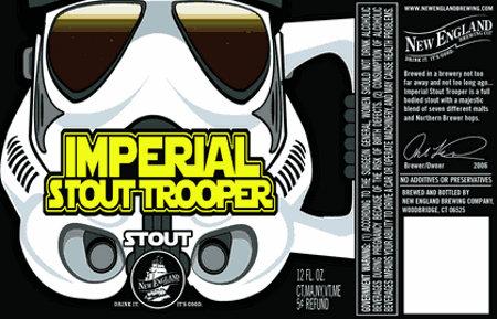 Etiquette de la bière Imperial Stout Troopers