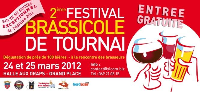 Le 24 et 25 Mars 2012 : Le 2ème Festival Brassicole de Tournai ! festival-brassicole-tournai