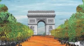 Heineken sème les Champs Elysées