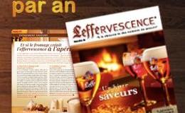 Abonnez-vous gratuitement au magazine Leffervescence