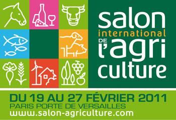 Logo Du salon de L'agriculture de Paris 2011
