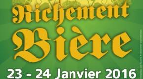 Un Salon Richement Bière les 23 et 24 janvier 2016 !