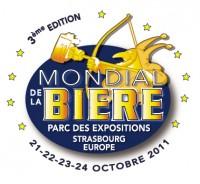 Logo du Mondial de la bière de Strasbourg