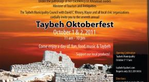 L'Oktoberfest existe aussi en Palestine!